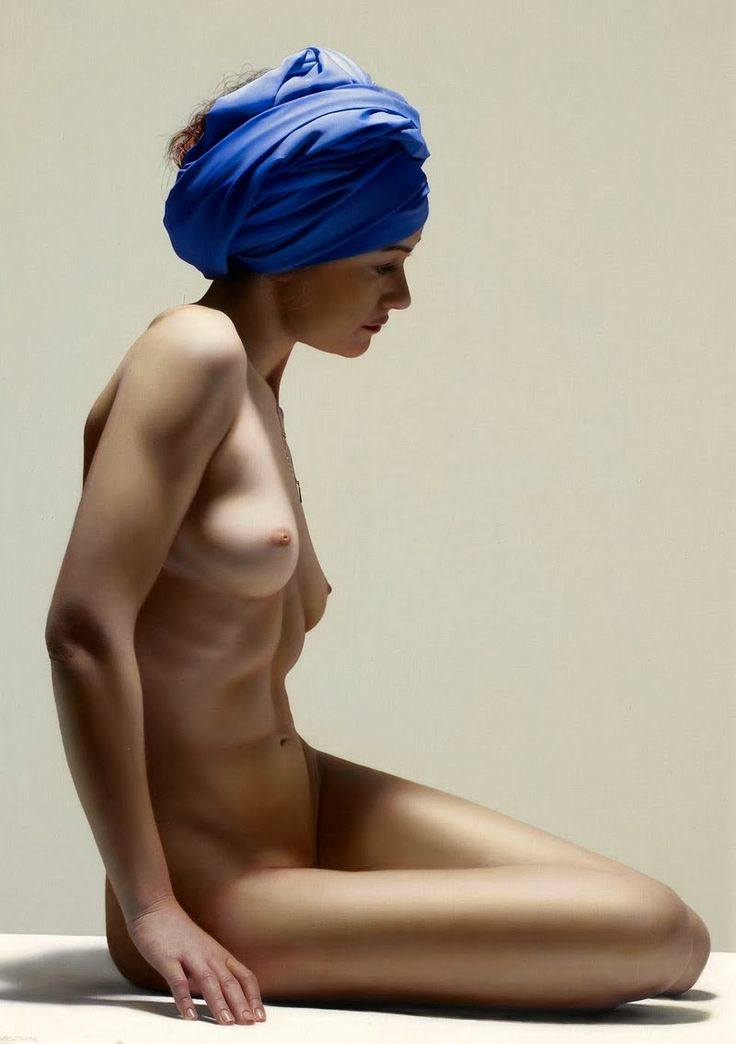 D.W.C. Nu Woman - Painter Luciano Ventrone