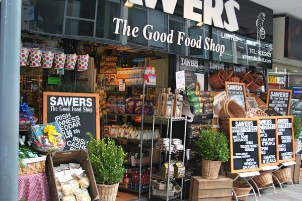 Sawers Deli, an Aladdin's cave of gourmet food in Belfast