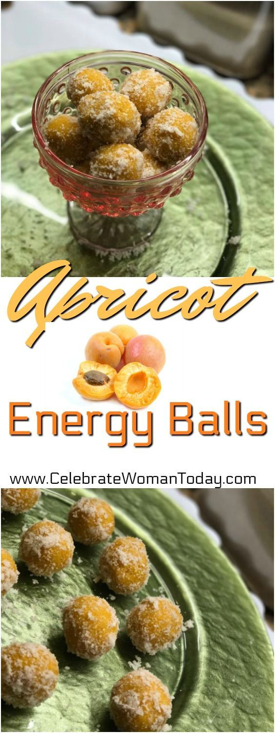 Easy recipe for your snacks. Only 3 ingredients to make these! Apricot Energy Balls Recipe, RAW Recipes