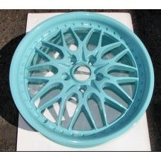 Tiffany Blue Powder Coated Rims https://www.thepowdercoatstore.com/products/tiffany-blue-powder-coat-paint