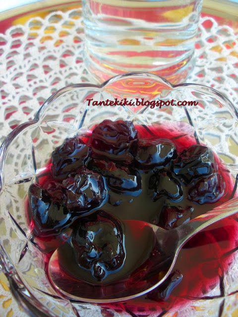 Tante Kiki: Γλυκό κουταλιού βύσσινο