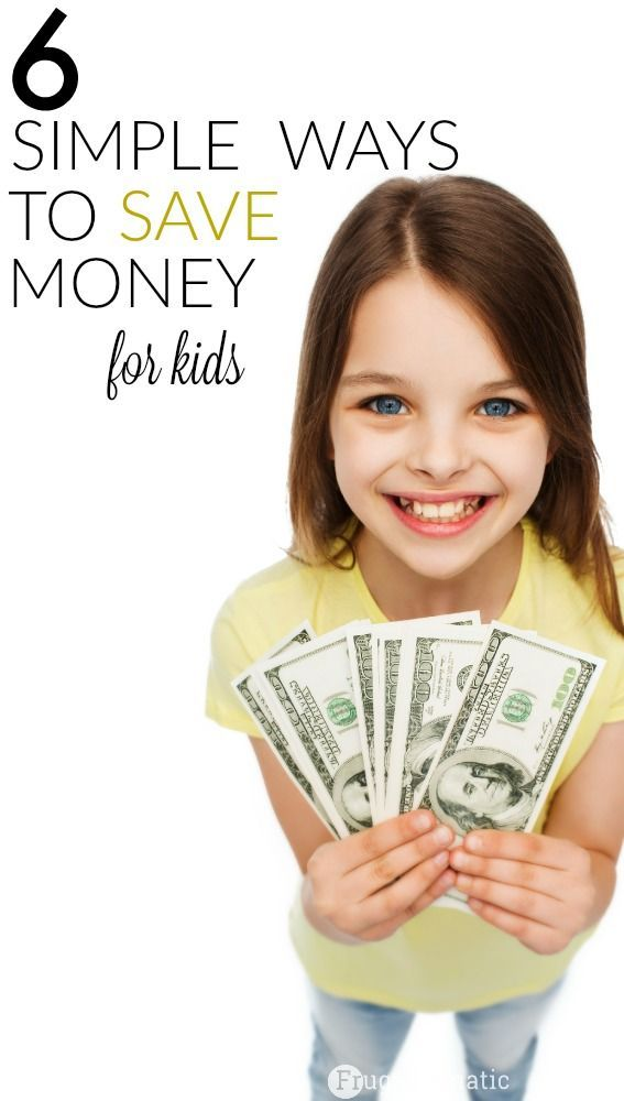 6 Simple Ways for Kids to Save Money – Financial Education