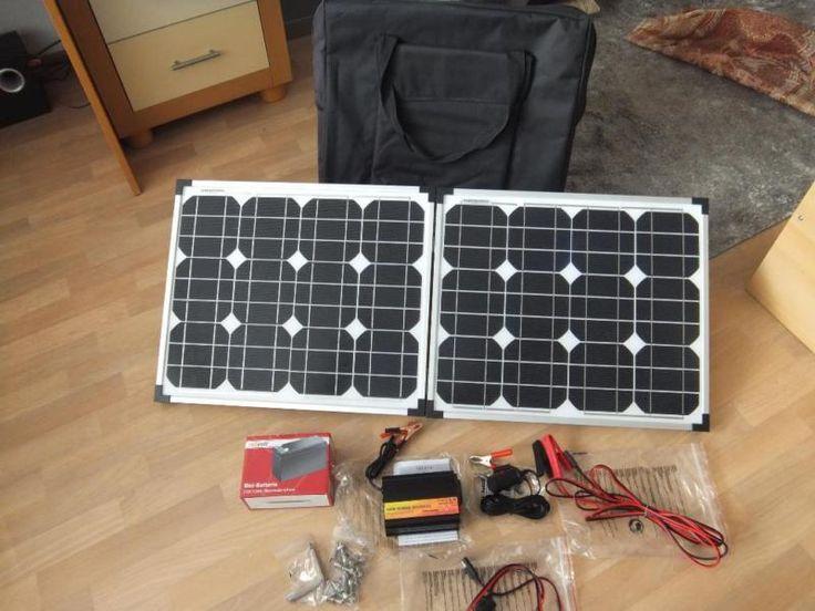 verkaufe noch nie zum einsatzgekommene solaranlage. Black Bedroom Furniture Sets. Home Design Ideas