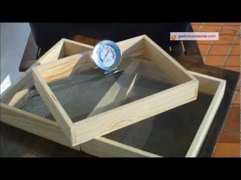 Usar el horno solar como deshidratador