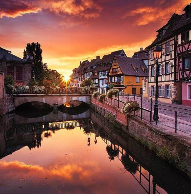 Colmar France #ville #voyage #paysage #photo #photographie #décoration #tableaux #cadre #maison