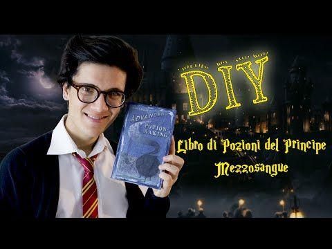 DIY: Harry Potter - Libro di Pozioni del Principe Mezzosangue - YouTube
