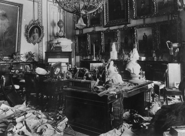 3364058-october-1917-a-ransacked-room-in-the-tsars-gettyimages.jpg 594×437 pixels