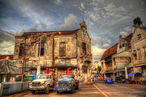 Indonesia - Java - Semarang - Street Scenes