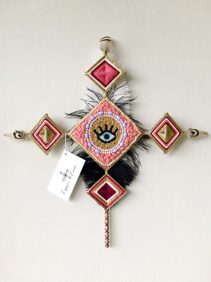 Eye Heart Cross - Copper and Cross X Hello Tangle Gods Eye $249