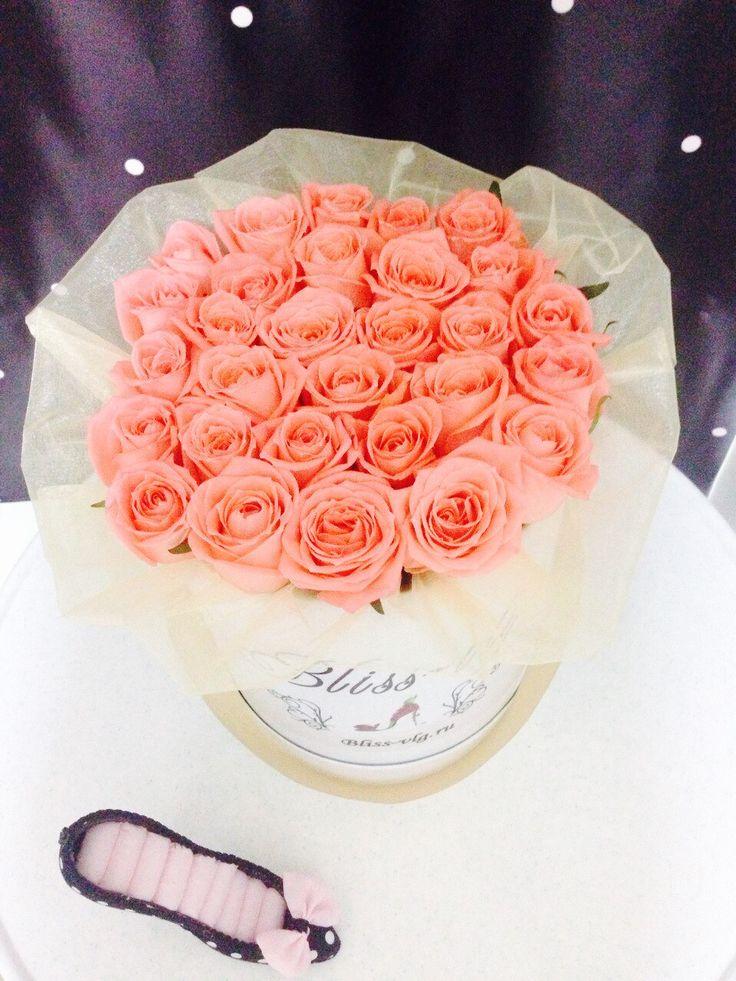 Нежные розы 29 штук  #flowers #bouquets #roses #Volgograd