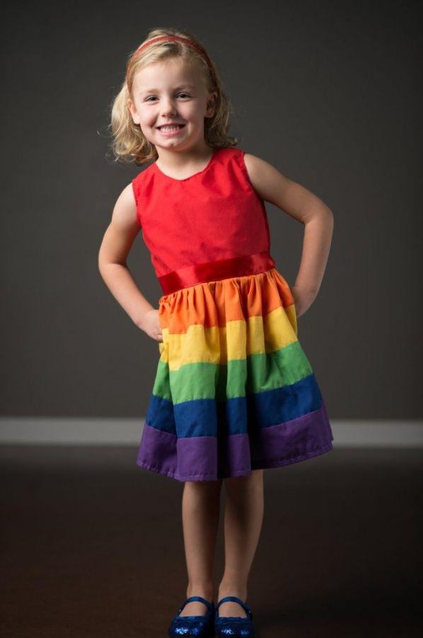 Gorgeous Rainbow Kids Clothing