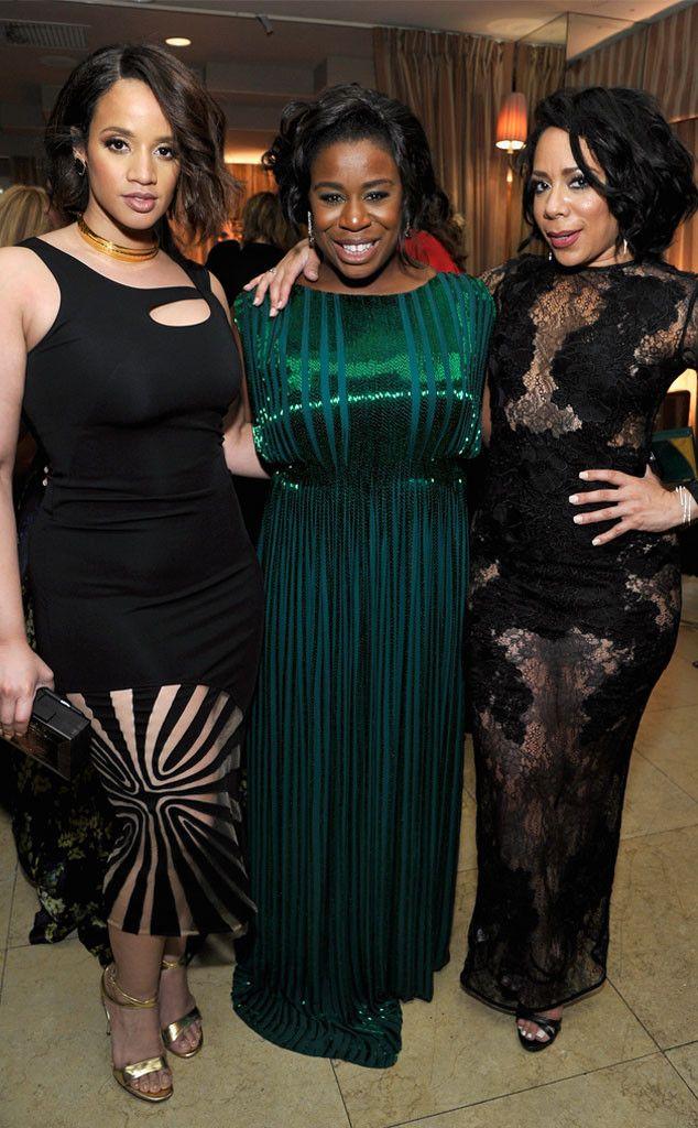 Dascha Polanco & Uzo Aduba & Selenis Leyva from SAG Awards 2016: After-Party Looks  The threeOrange Is the New Black actresses strike sexy poses.