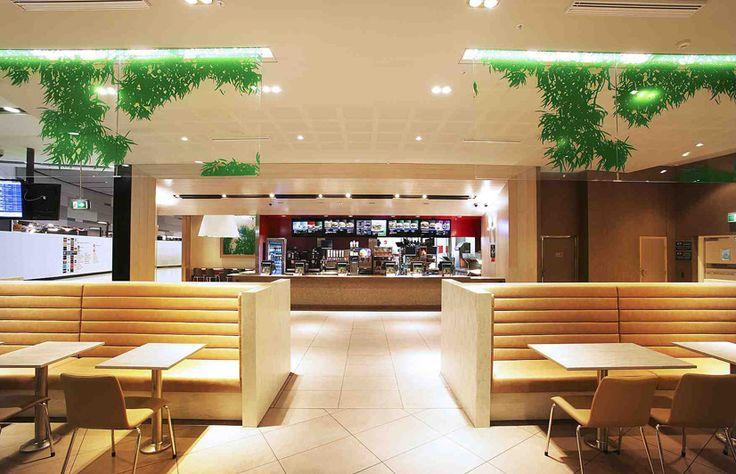 McDonald's Ups the Ante with New Interior Design   Restaurant Design!    Pinterest   Mcdonalds
