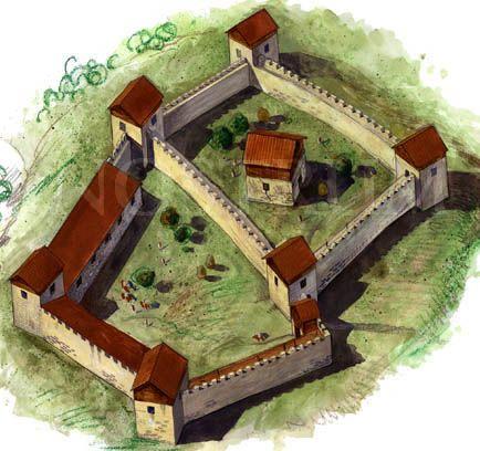 Dacian fortess Blidaru, by radu Oltean