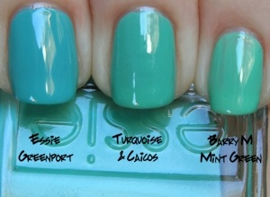shades of turquoise