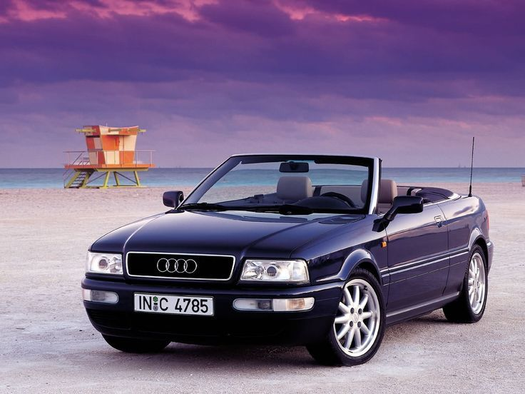 1992 Audi 80 B4 Cabrio.