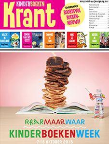 De Kinderboekenkrant staat tijdens de #Kinderboekenweek weer vol nieuwtjes en #leestips