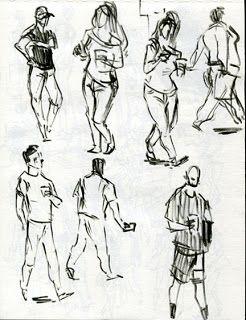 Kartika Mediani blog: Recent People Sketching