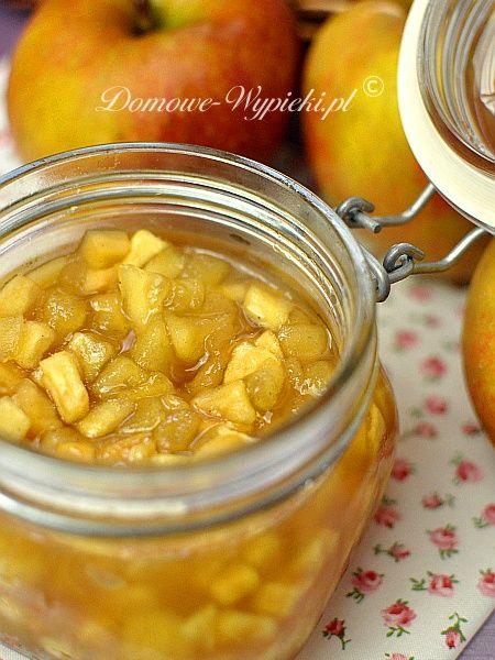 konfitura ze smażonych jabłek