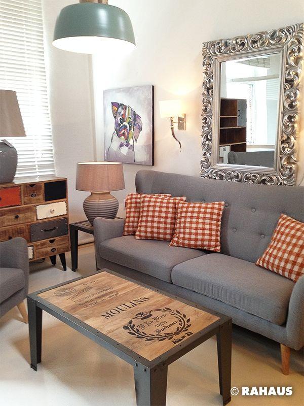 MODERN LIVING Sofa Stil Berlin RAHAUS Teppich Sessell Couchtisch