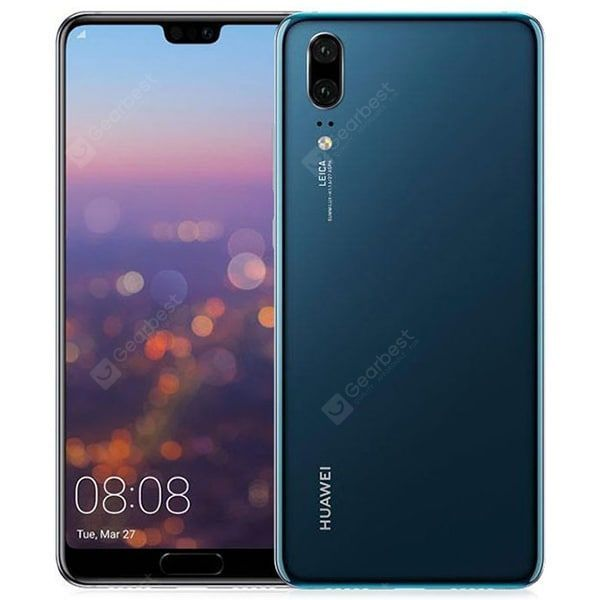 Huawei P20 4g Phablet Global Version Midnight Blue 4gb Ram 128gb Rom 24 0mp Front Camera Fingerprint Recognitio In 2020 Smartphone Projector Phablet Phone Projector