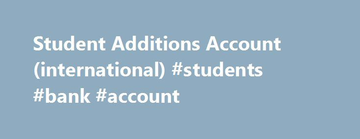 Student Additions Account (international) #students #bank #account http://france.remmont.com/student-additions-account-international-students-bank-account/  # Updated cookies policy – you'll see this message only once. Barclays uses cookies on this website. They help us to know a little bit about you and how you use our website, which improves the browsing experience and marketing – both for you and for others. They are stored locally on your computer or mobile device. To accept cookies…