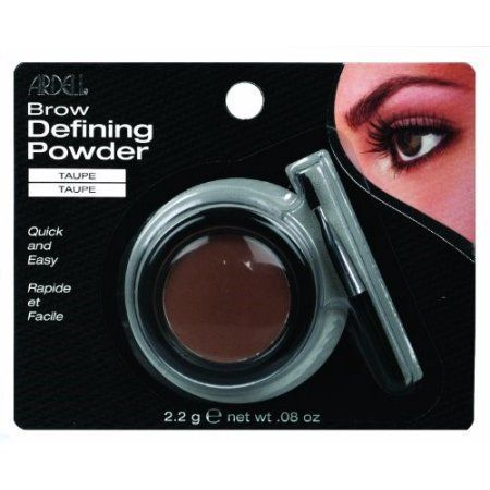 Andrea Brow Defining Power, Taupe, 0.08 Oz, Gray