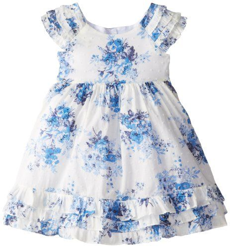 Laura Ashley London Little Girls' Blue Floral Flutter Dress, White/Blue, 3 Laura Ashley London http://www.amazon.com/dp/B00ICZL9X2/ref=cm_sw_r_pi_dp_QXPFub1JCHT82