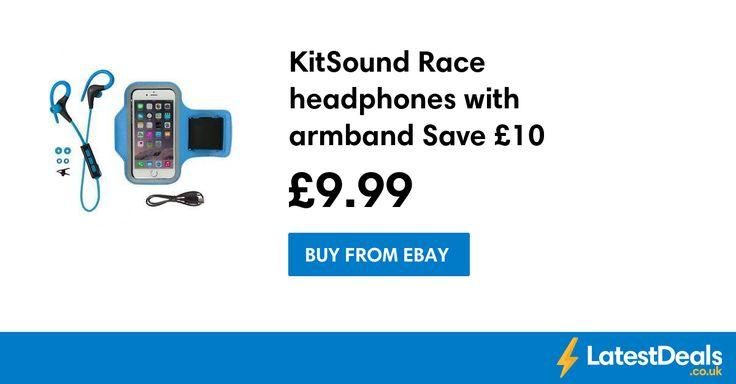 KitSound Race headphones with armband Save £10, £9.99 at ebay