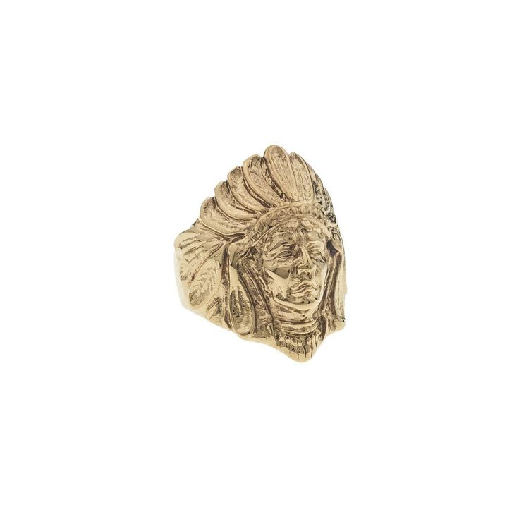 *Mister Chief Ring - Gold