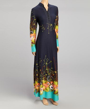Take a look at this Navy Maxi Dress by Miss Maxi on #zulily today!http://www.zulily.com/invite/lstilnovich449