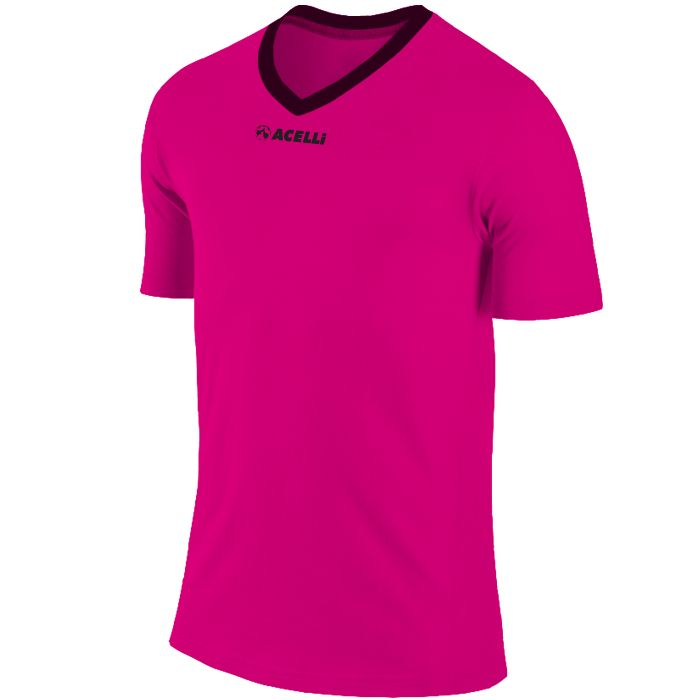 electric pink soccer top