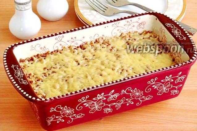 Запеканка из гречки с грибами / Болталка / Кулинария
