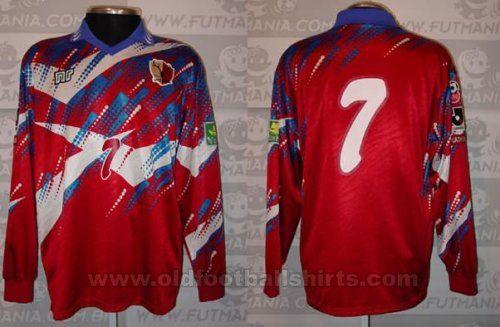 Kashima Antlers Casa camisa de futebol 1998