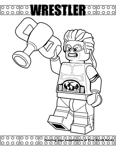 Minifigures Series | Coloring pages, Lego coloring pages ...