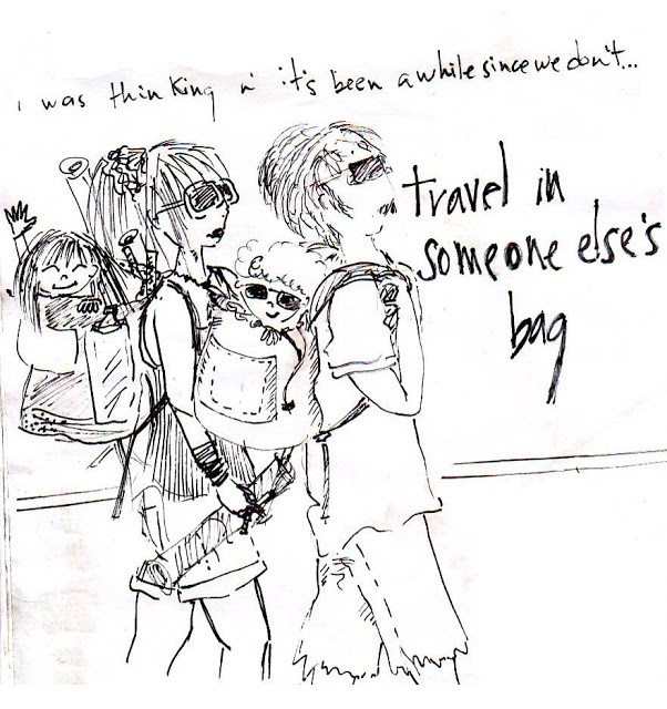 some else's bag | sans talent