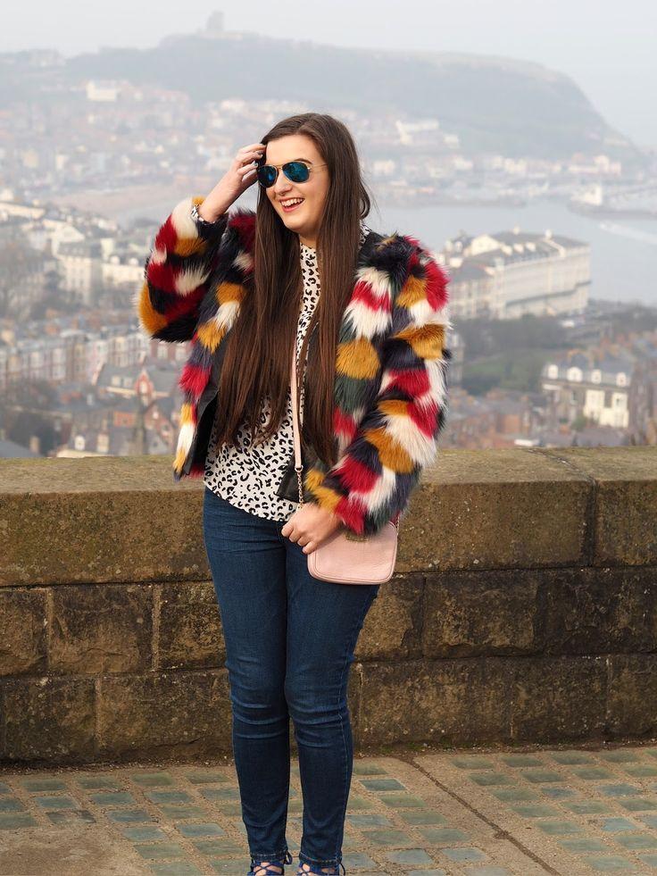 Fashion: Multi-Coloured Faux Fur www.jayley.com #fauxfur #jayley