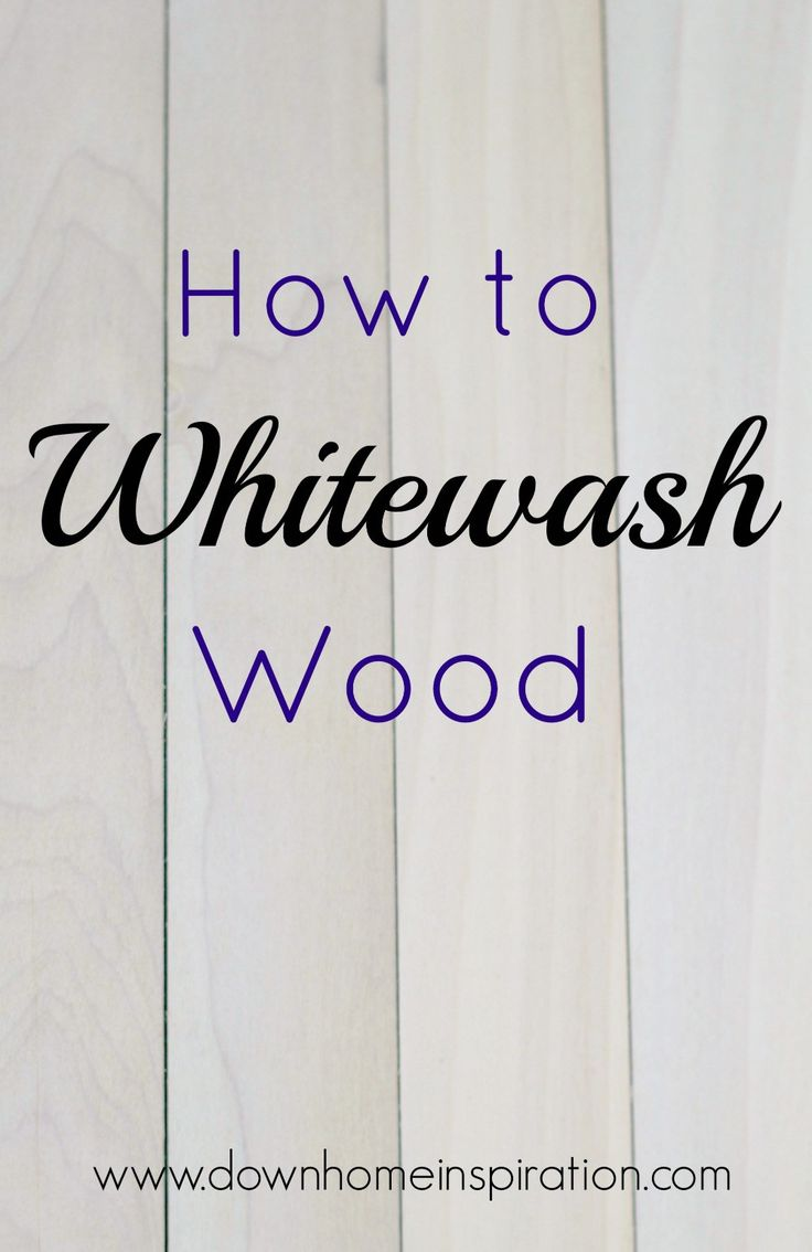 Whitewashing wood is a super simple way to create a fun look for your wood project. And it is so much easier than you might have thought.