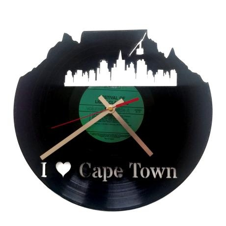 I (Heart) Cape Town Clock – Black from Wall Clock Wonders - R199 (Save 0%)