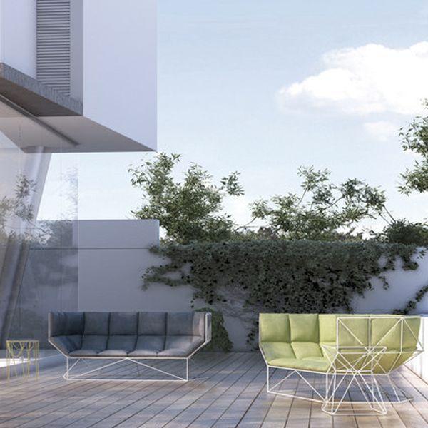Divano Foxhole, design Nathan Yong, Sphaus