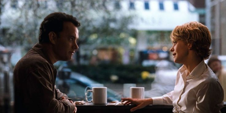 """You've Got Mail (1998) """"How about coffee, drinks, dinner, a movie … or as long as we both shall live?"""""""