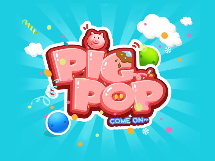 PIG POP game design by Yuanzi