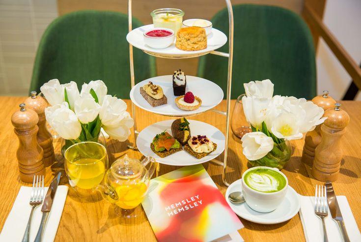 Afternoon Tea at Hemsley Selfridges Cafe | HEMSLEY + HEMSLEY - healthy food and living