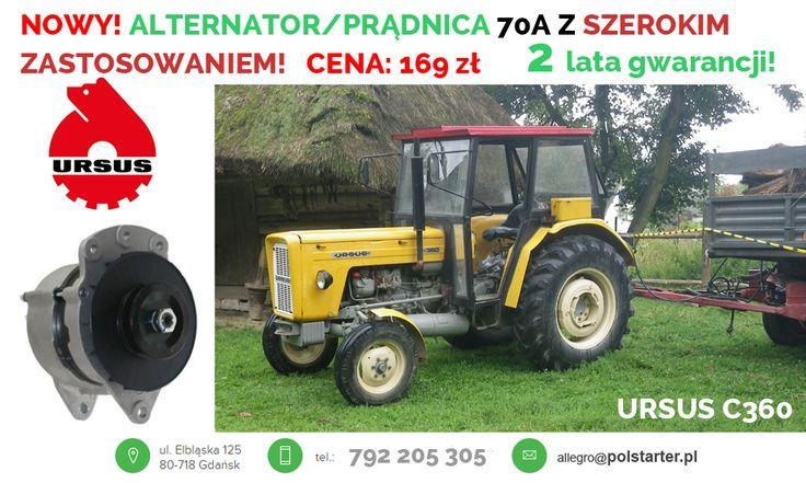 Pradnica Alternator Do Ursus C330 Ursus C360 6666018521 Oficjalne Archiwum Allegro Alternator Ursus Tractors