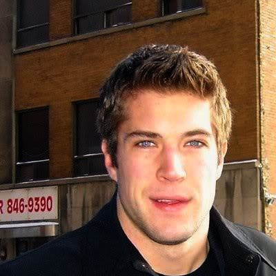 Taylor Pyatt    I stole this one from:  http://agaymanshockeyblog.com/2011/03/27/top-ten-hottest-nhl-players-2011/#  I honestly have nothing to argue about that guys blog.