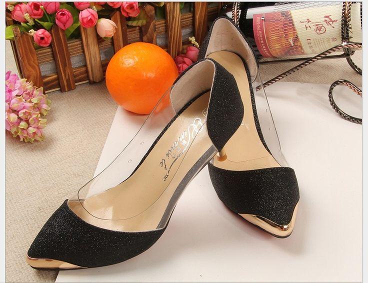 Frühling/Herbst Frauen Schuhe High Heels PU Metallkopf spitze Größe (33 ~ 40) Bumper kappe Sexy Frauen Pumps Hochzeit Schuhe Für Frauen //Price: $US $19.80 & FREE Shipping //     #clknetwork