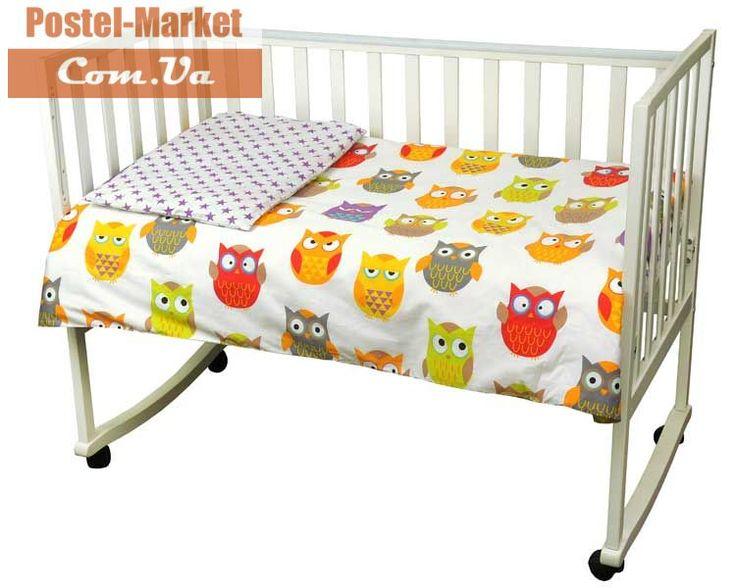 Постельное белье Совы Руно в кроватку купить в интернет магазине Постель Маркет (Киев, Украина)