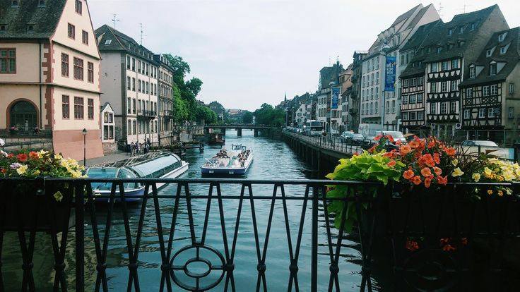 A lovely river in Strasbourg. #Strasbourg #France #river #photography #tumblr #view #cute