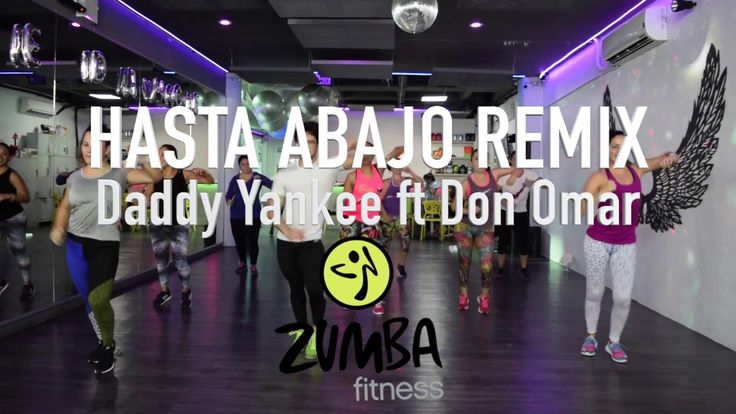 Hasta Abajo Remix - Daddy Yankee ft Don Omar by Cesar James Zumba Cardio Extremo Cancun - YouTube
