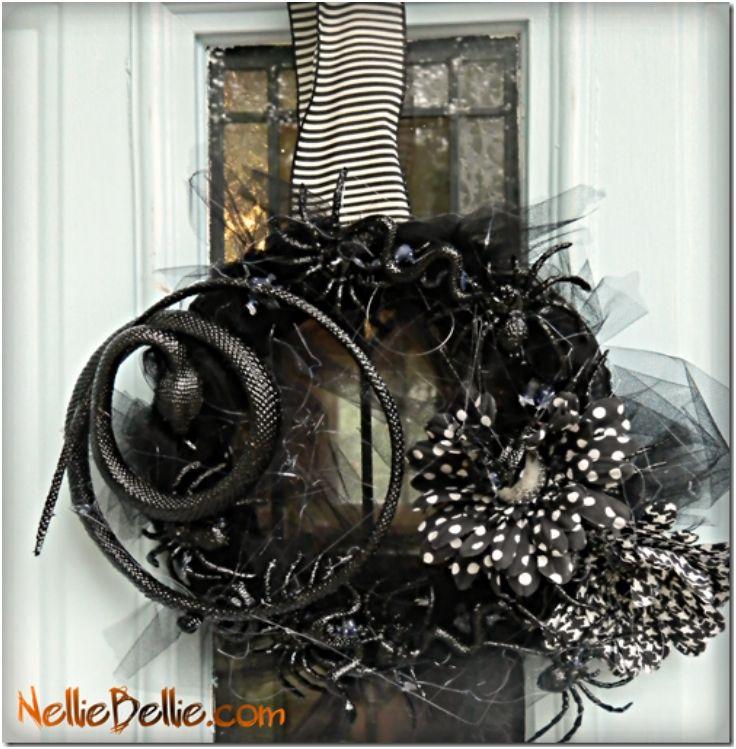 Creepy Crawly Wreath